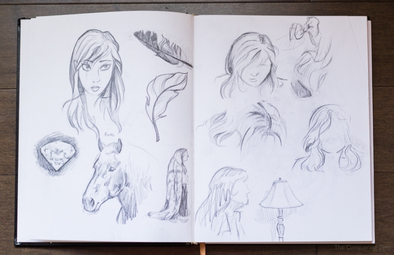 Personal Sketchbook on The Conquering Zero