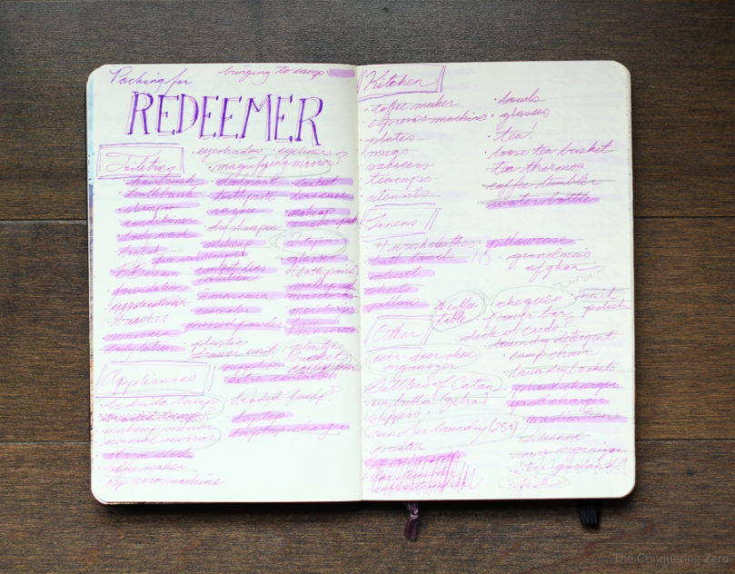 Sketchbook on The Conquering Zero