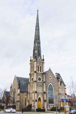 Central Presbyterian Church in Galt, ON.