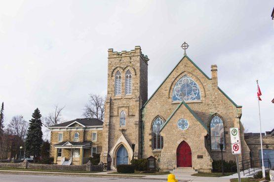 Trinity Anglican Church in Galt, ON.